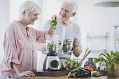 Dieting in old age: how to eat right and live better