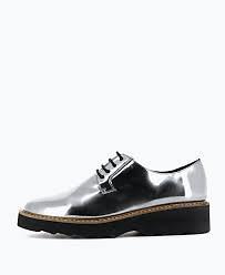 chaussures, derbies, mode, plateforme