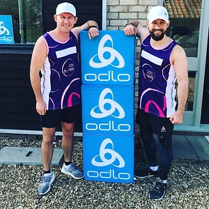 James' marathon challenge for Breast Cancer Haven