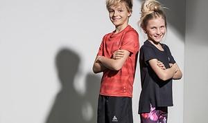 Vêtements de sport tendance pour enfants