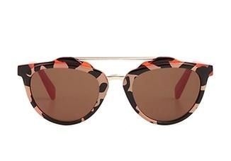 lunettes, accessoires, mode, soleil