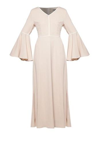 Zalia Contrast Binding Dress