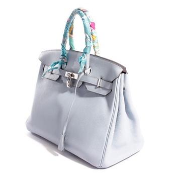 3daf36f17c69 Hermès Birkin Bag 35 Bag 35 in Hellblau