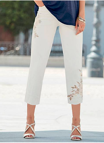 d161987894 6 White Jeans Outfit Ideas