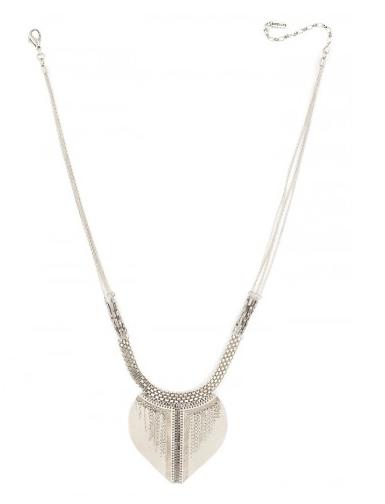 collier, bijoux, mode, plastron