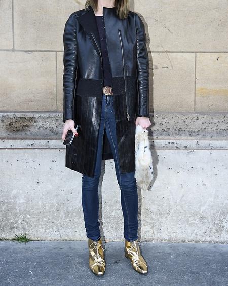 Metallic- Schuhe als stilvolle Eyecatcher Kitten-Heels oder Ankle- Boots in  Gold, Silber oder Bronze lassen einen casual Look sofort stylisch wirken  und ... 657af5b85c