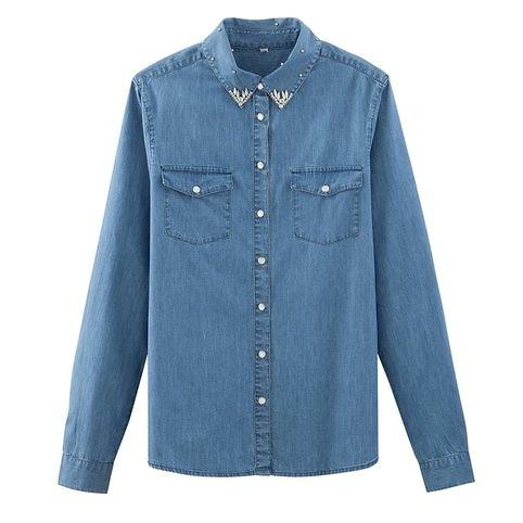 chemise, jean, mode
