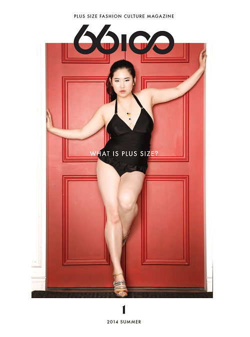 ac7c2feb529 Plus size model and founder of 66100 magazine Kim Gee Yang