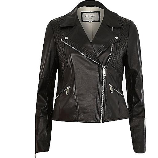 vêtement, blouson, veste, cuir, mode