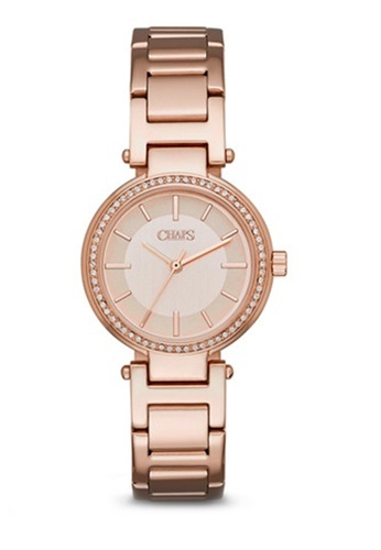 Alanis Rose Gold Stainless Steel Watch