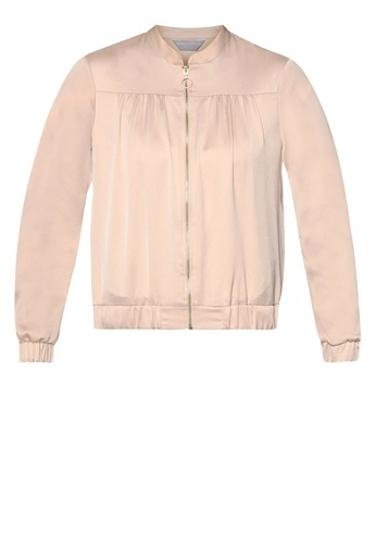 Dorothy Perkins Champagne Bomber Jacket