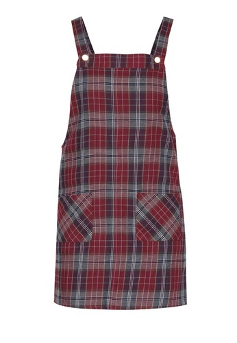 Dorothy Perkins Check Pinny Dress