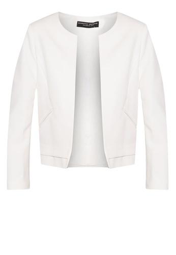 Dorothy Perkins Ivory Boxy Jacket