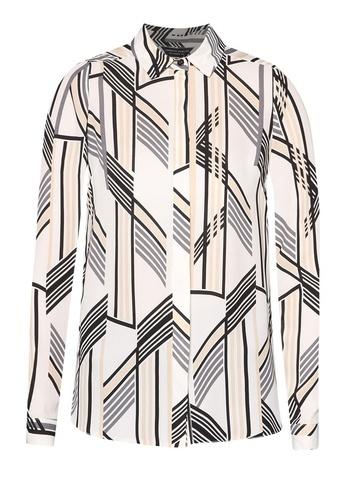 Dorothy Perkins Ivory Chevron Shirt