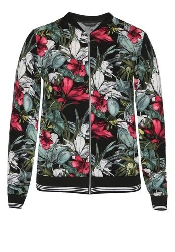 Dorothy Perkins Pink Floral Bomber Jacket