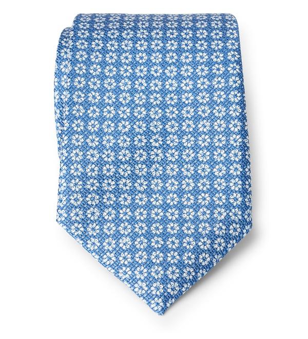 Gierre Milano - Krawatte blau gemustert