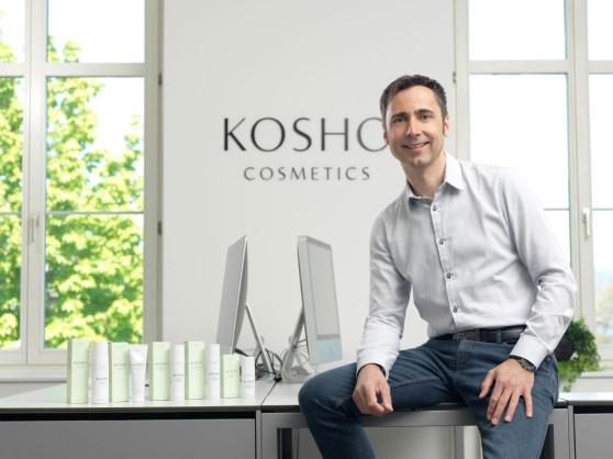 Holger Hampel, Gründer von Kosho Cosmetics