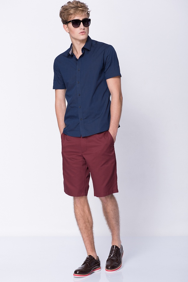 Informal Short Sleeve Shirt