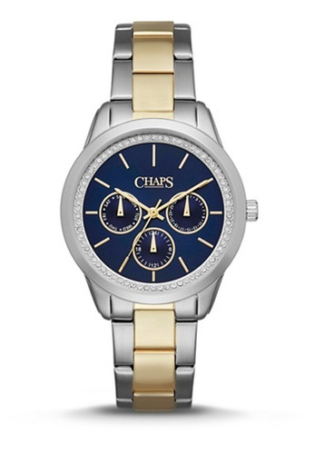 Kasia 2T Silver/Gold Stainless Steel Watch