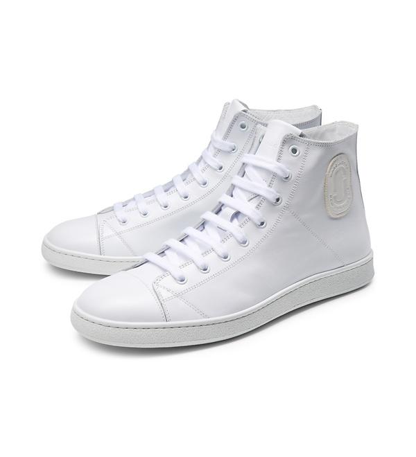 Marc Jacobs - High Top Sneaker weiß