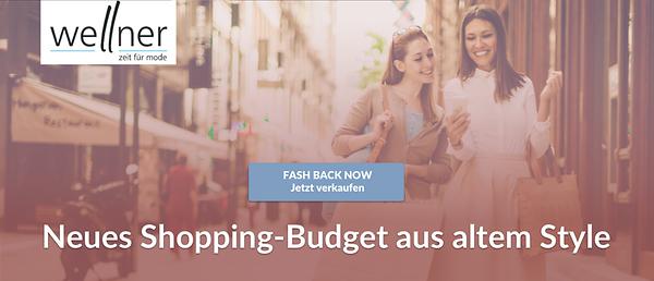 Fashback: Neues Shopping-Budget aus altem Style