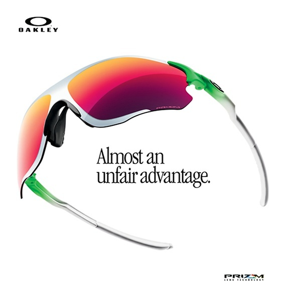 Oakley Green Fade Collection For The Sports Enthusiasts!