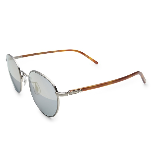 Oliver Peoples - Sonnenbrille 'Hassett' silber/grau