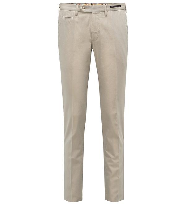 PT01 - Baumwollhose 'Super Slim Fit' beige