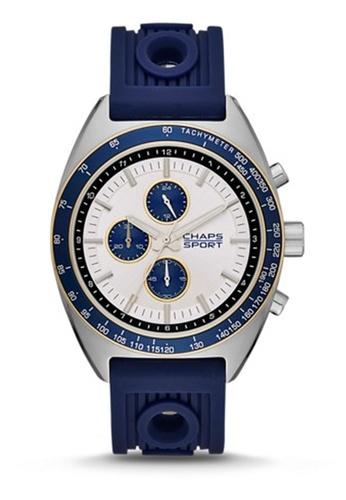 Rockton Blue Silicone Watch