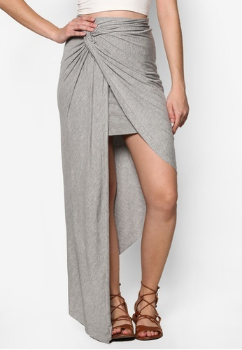 Supre Knot Twist Wrap Skirt