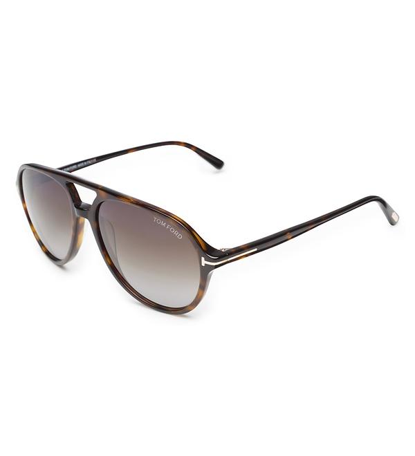 Tom Ford - Sonnenbrille 'Jared' dunkelbraun/braun