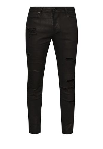 TOPMAN AAA Ripped Skinny Jeans