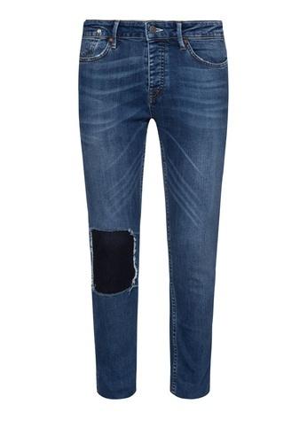 TOPMAN Mid Wash Jeans
