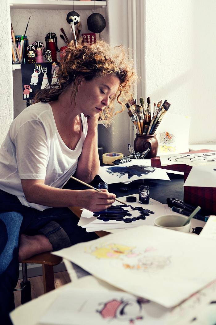 Photowall möter författaren och illustratören Stina Wirsén