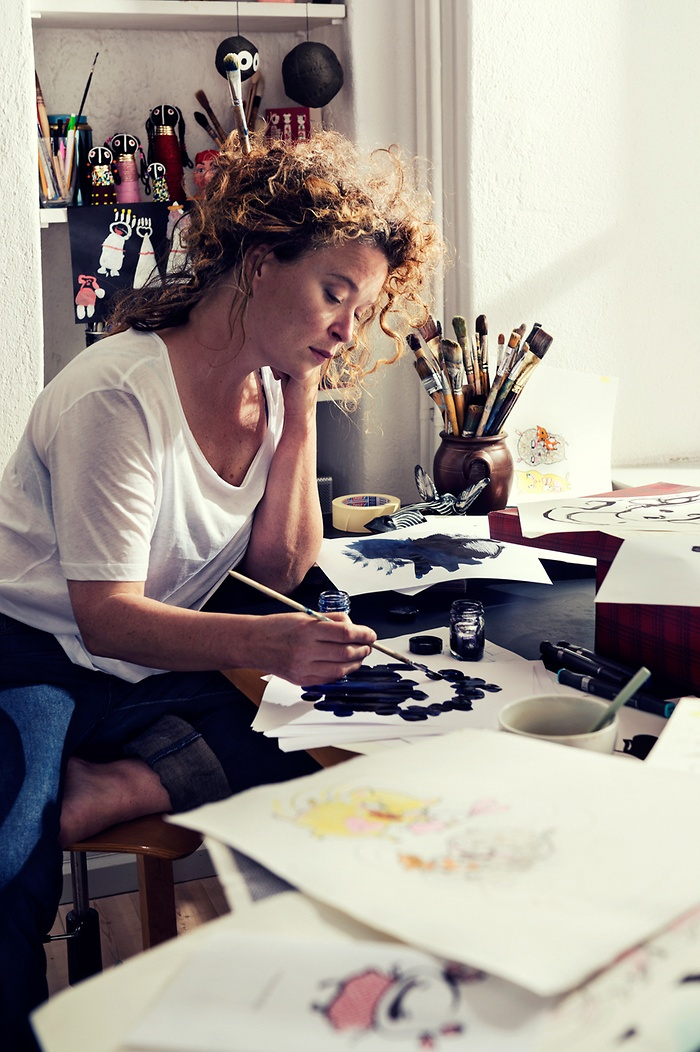 Photowall meets author and illustrator Stina Wirsén