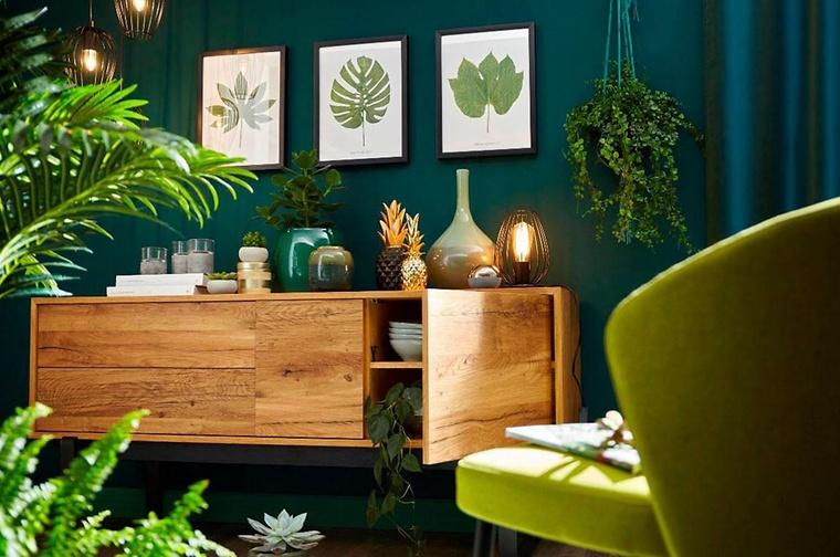 Diese Wohnzimmer Farben Machen An Allen Wänden, An Nur An Einer, Oder Sogar  Als Farbakzent In Form Eines Streifens Oder Quadrats Eine Gute Figur.