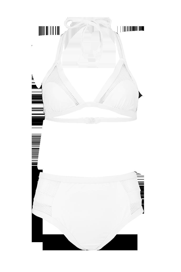 Tobago Mesh High Waist Bikini