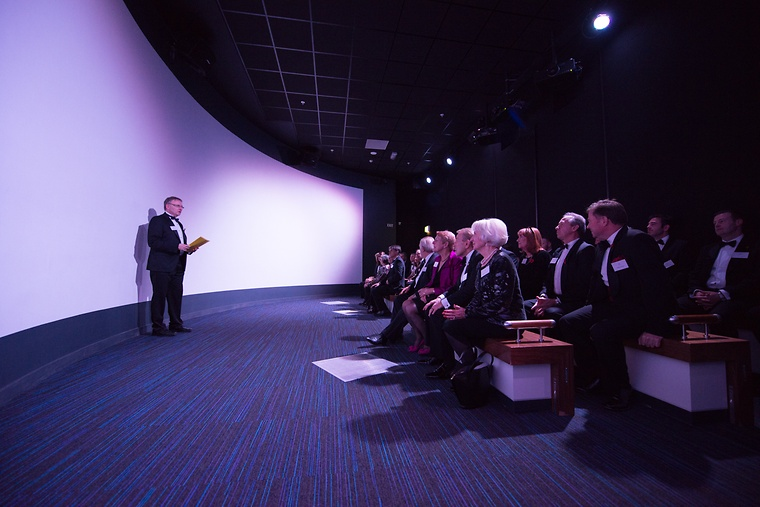 A film including Sir Trevor Brooking CBE was shown to all attendees.