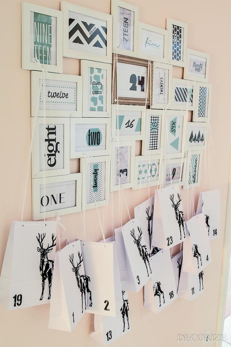 Viele kreative Adventskalender Ideen