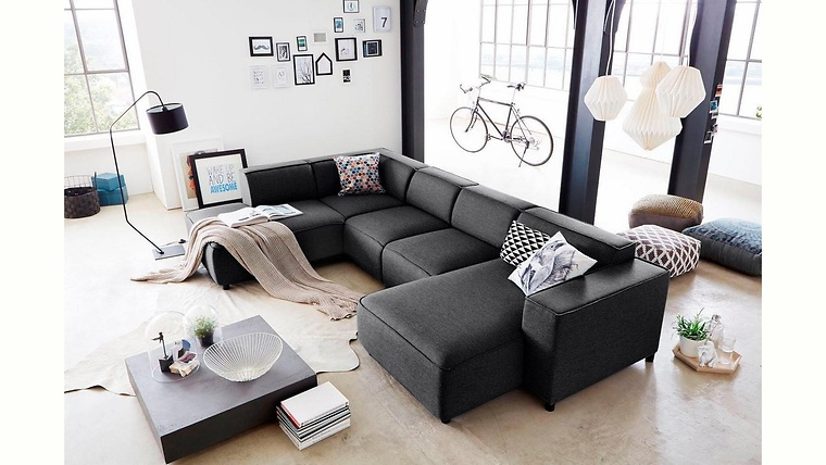 Wohnzimmer Industrial Industrial Loft With Modern And