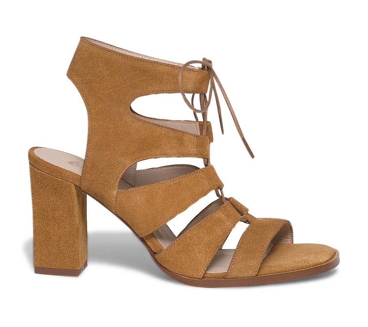 chaussures, sandales, lacets, mode, talons