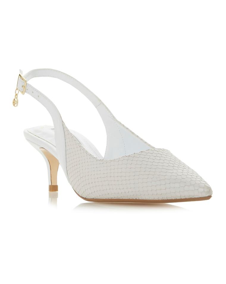 ea362f9b0 Dune Cinda Slingback Court Shoes Wide E Fit