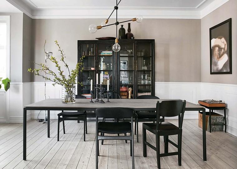Anbauwand Nussbaum Malerei : Beliebtes interieur esszimmer nussbaum malerei waitingshare