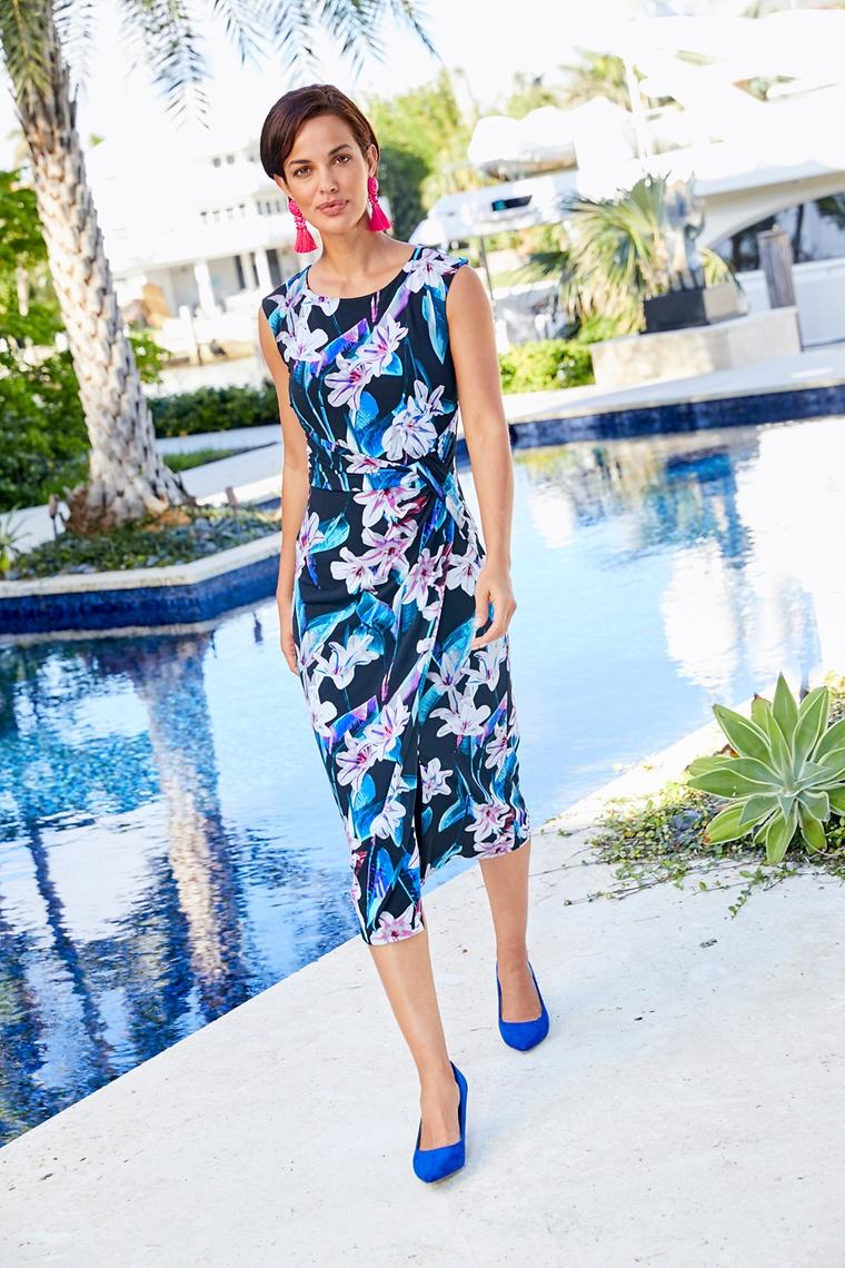 9236ef8d3e2 Joanna Hope Print Dress