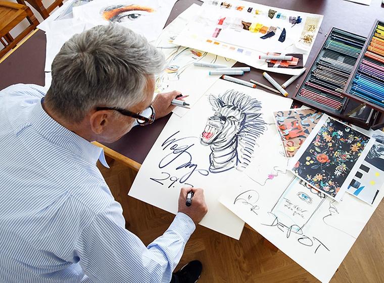 Joop Esszimmermöbel : Kreativmeeting mit wolfgang joop
