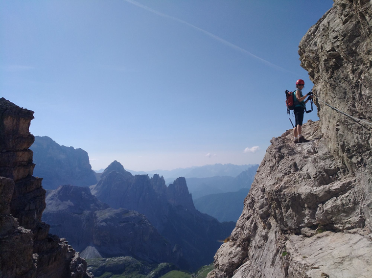 Klettersteig Nauders : Klettersteig edelweiss