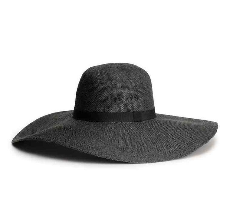 mode, chapeau, paille, capeline
