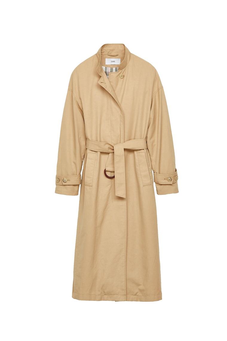 mode, trench, manteau, basique