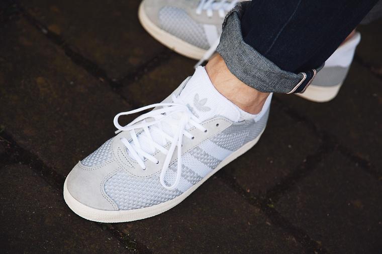Adidas Gazelle Grau 38 hotelgarni