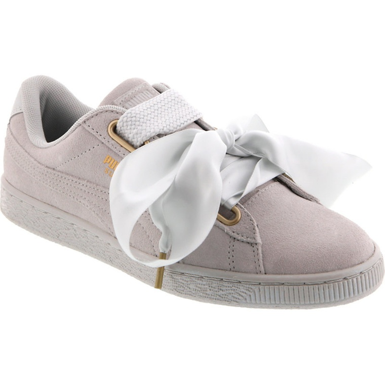 puma heart basket damen grün